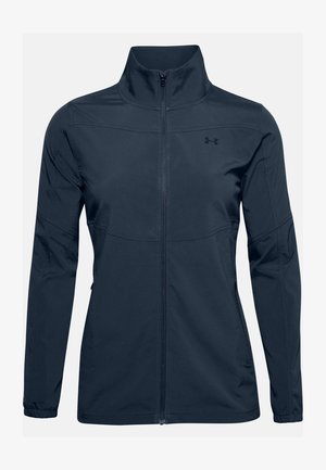 UA WINDSTRIKE FULL ZIP - Waterproof jacket - academy