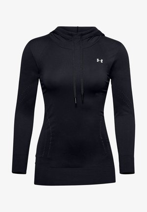 UA SEAMLESS - Sweatshirt - black