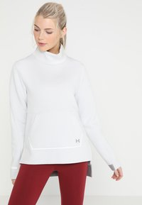 Under Armour - MOVE MOCK - Sweater - pitch grey - 0