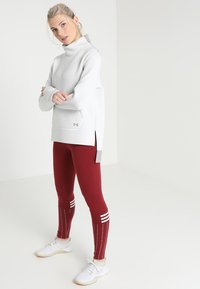 Under Armour - MOVE MOCK - Sweater - pitch grey - 1