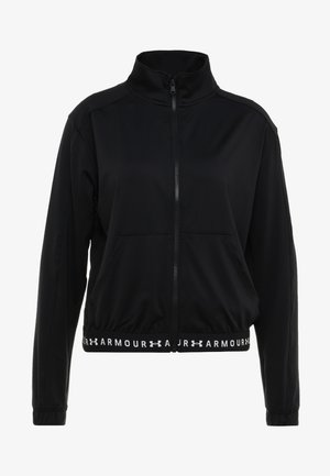 FULL ZIP - Veste de survêtement - black/white