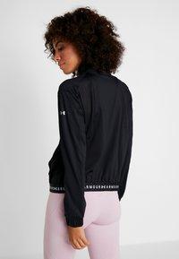 Under Armour - FULL ZIP - Training jacket - black/white - 2