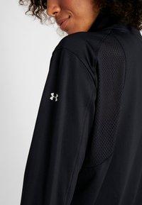 Under Armour - FULL ZIP - Training jacket - black/white - 6