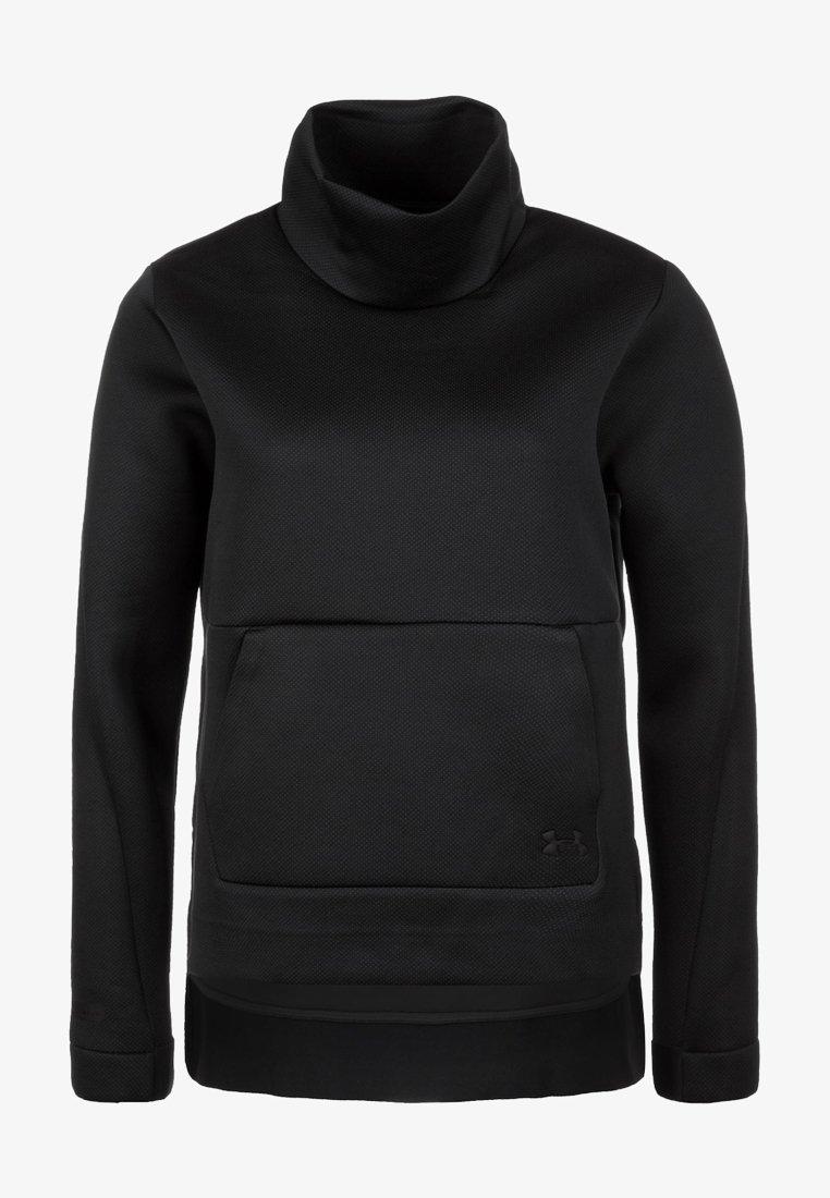 Under Armour - MOVE MOCK  - Sweatshirt - black