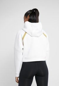 Under Armour - MISTY SIGNATURE SPACER FULL ZIP - Hoodie met rits - onyx white/palm green - 2