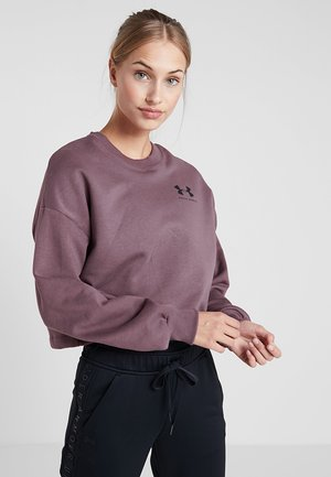 RIVAL GRAPHIC CREW - Sweatshirt - level purple/black