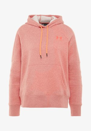 RIVAL LOGO HOODIE NOVELTY - Kapuzenpullover - fractal pink medium heather/peach plasma