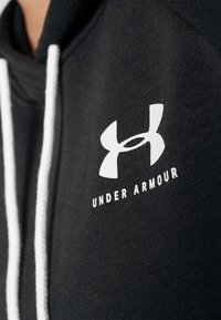 Under Armour - RIVAL LOGO HOODIE NOVELTY - Hoodie - black/onyx white - 5