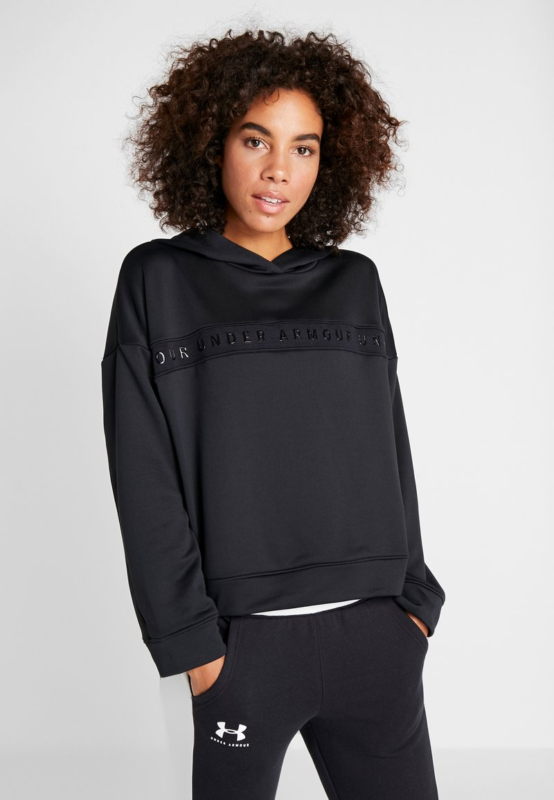 Under Armour - TECH HOODY - Sweat à capuche - black