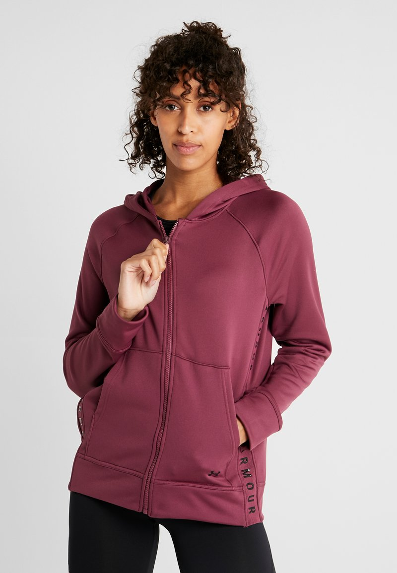 Under Armour - TECH - Zip-up hoodie - level purple/black