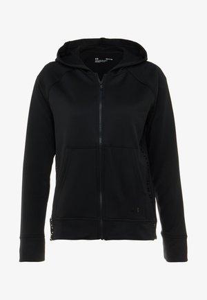 TECH - Mikina na zip - black