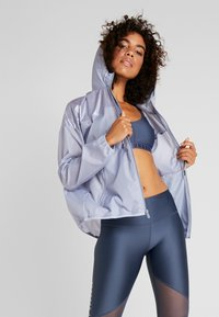 Under Armour - UNSTOPPABLE BEST - Treningsjakke - blue heights/downpour gray - 0