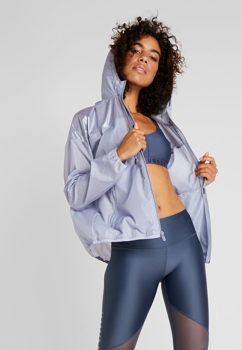 Under Armour - UNSTOPPABLE BEST - Treningsjakke - blue heights/downpour gray