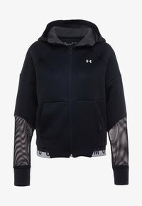 Under Armour - MOVE FULL ZIP HOODIE  - Chaqueta de entrenamiento - black/onyx white - 5