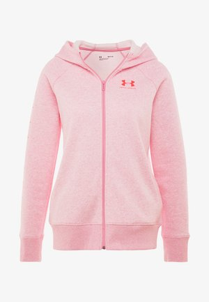 RIVAL SPORTSTYLE SLEEVE  - Sudadera con cremallera - lipstick medium heather