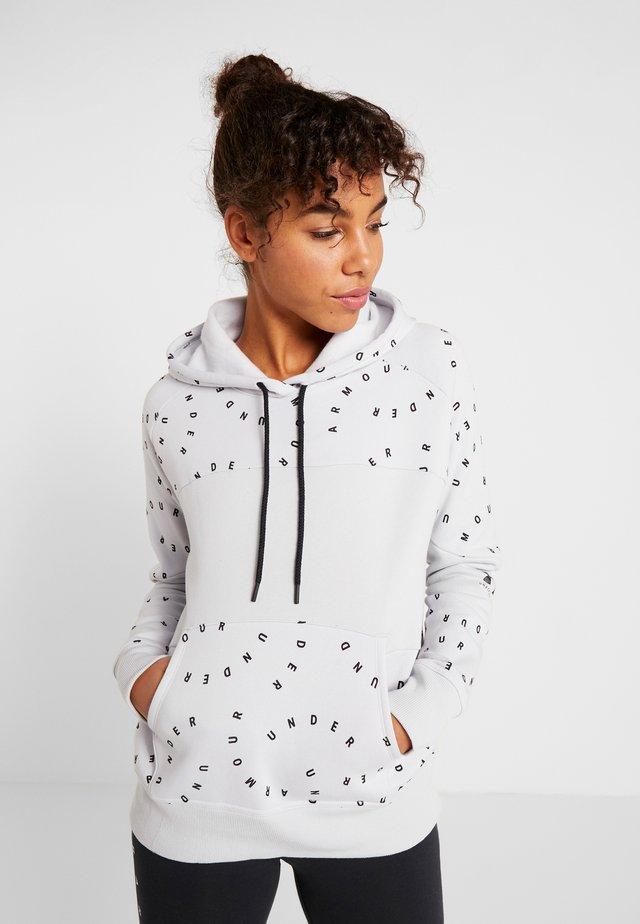 RIVAL HOODIE - Bluza z kapturem - halo gray/black