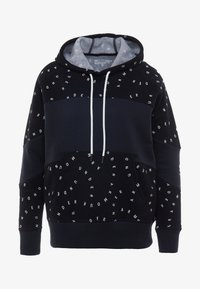 Under Armour - RIVAL HOODIE - Mikina s kapucí - black/onyx white - 5