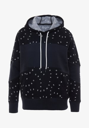 RIVAL HOODIE - Sweat à capuche - black/onyx white
