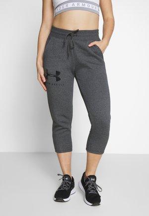 RIVAL SPORTSTYLE GRAPHIC CROP - Jogginghose - jet gray medium heather/black