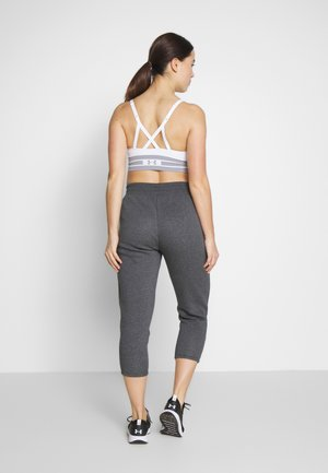 RIVAL SPORTSTYLE GRAPHIC CROP - Pantalones deportivos - jet gray medium heather/black