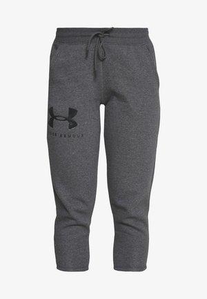 RIVAL SPORTSTYLE GRAPHIC CROP - Teplákové kalhoty - jet gray medium heather/black