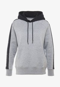 Under Armour - RIVAL GRAPHIC HOODIE NOVELTY - Hoodie - grey - 3