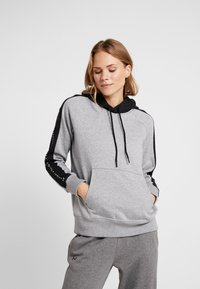Under Armour - RIVAL GRAPHIC HOODIE NOVELTY - Hoodie - grey - 0