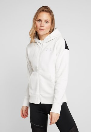 ORIGINATORS HOODED LOGO - Mikina na zip - white