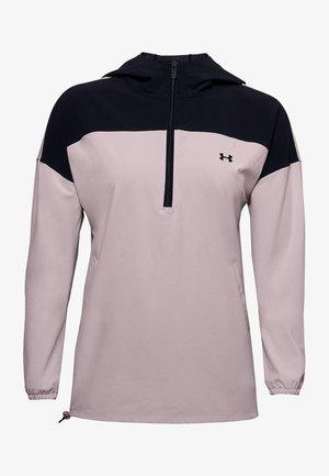 ATHLETE RECOVERY WN ANORAK - Sweatshirt - dash pink