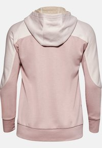 Under Armour - RECOVER KNIT FZ HOODIE - Zip-up hoodie - pink - 1