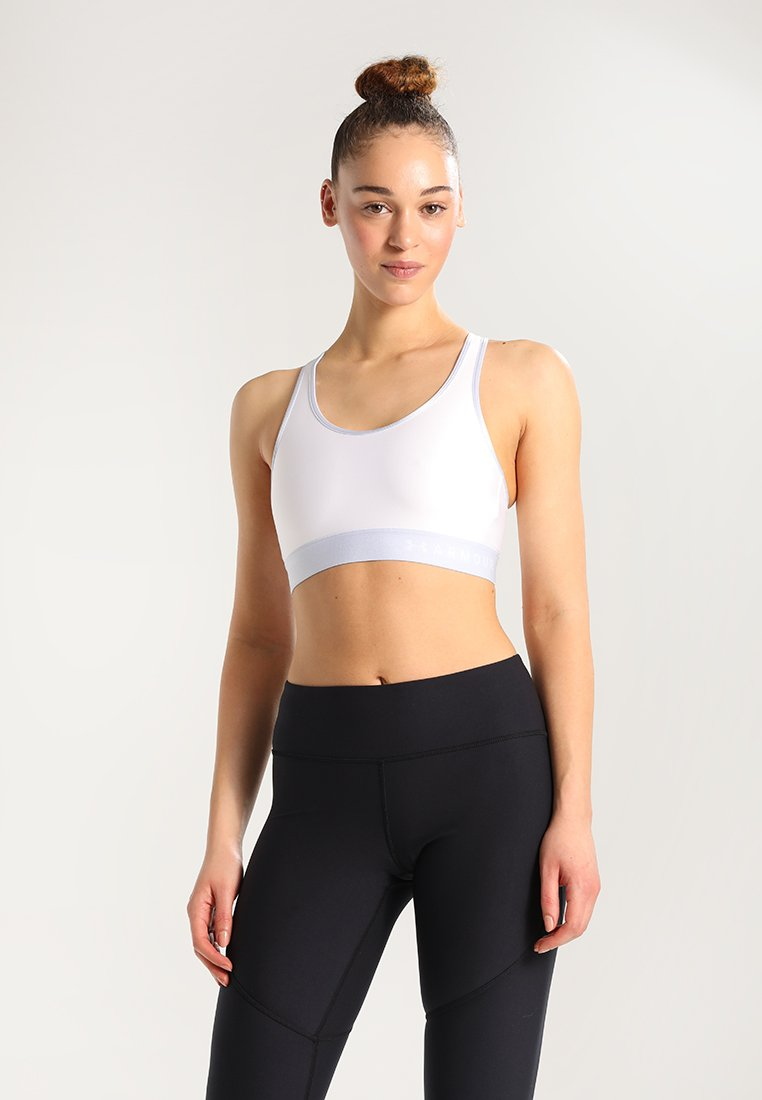 Under Armour - MID KEYHOLE - Bustier - white