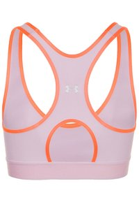 Under Armour - MID KEYHOLE BRA - Sports-bh'er - pink - 1