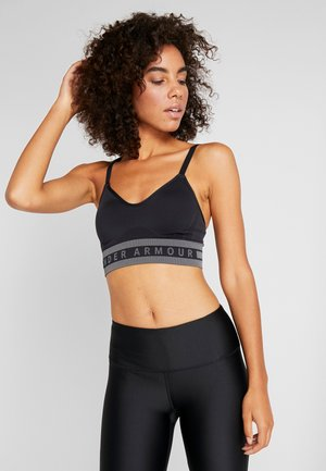 SEAMLESS LONGLINE BRA - Sports bra - black
