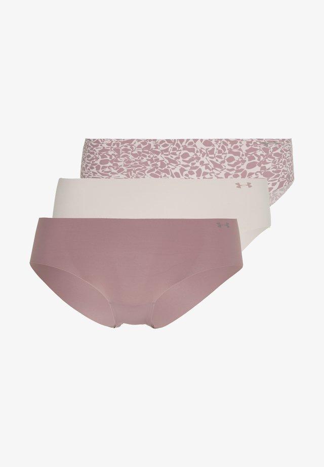 HIPSTER 3 PACK - Briefs - dash pink/hushed pink/hushed pink