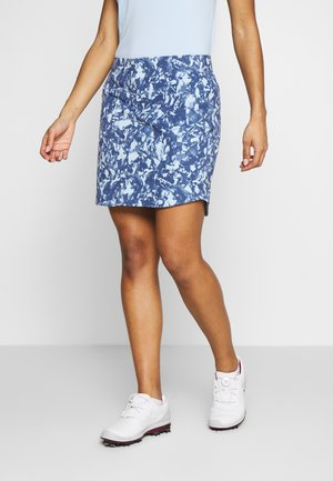 LINKS PRINTED SKORT - Spódnica sportowa - blue frost/mod gray/blue ink