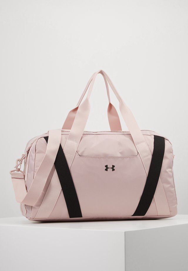 ESSENTIALS DUFFEL - Torba sportowa - dash pink/black