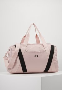 Under Armour - ESSENTIALS DUFFEL - Sports bag - dash pink/black - 0