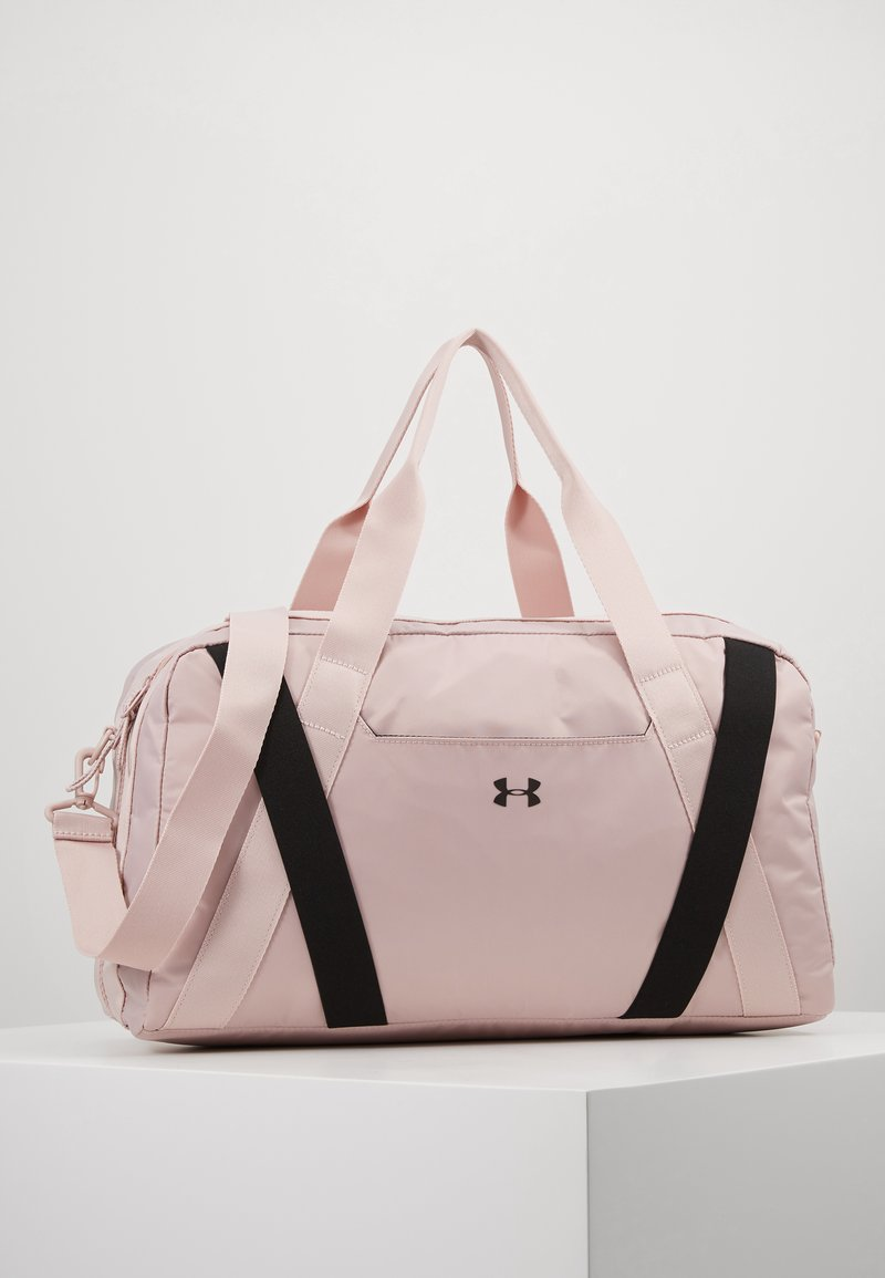 Under Armour - ESSENTIALS DUFFEL - Sports bag - dash pink/black