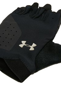 Under Armour - TRAINING GLOVE - Fingerless gloves - black/silver - 4