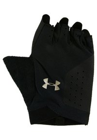 Under Armour - TRAINING GLOVE - Fingerless gloves - black/silver - 2