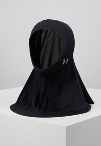 Under Armour - SPORT HIJAB - Beanie - black/silver - 0