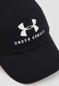 Under Armour - FAVORITE  - Bonnet - black/onyx white - 2