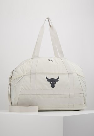PROJECT ROCK GYM BAG - Treningsbag - summit white/pitch gray