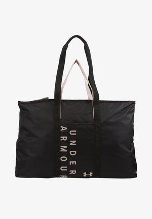WOMENS METALLIC FAVORITE TOTE  - Sports bag - black/dash pink