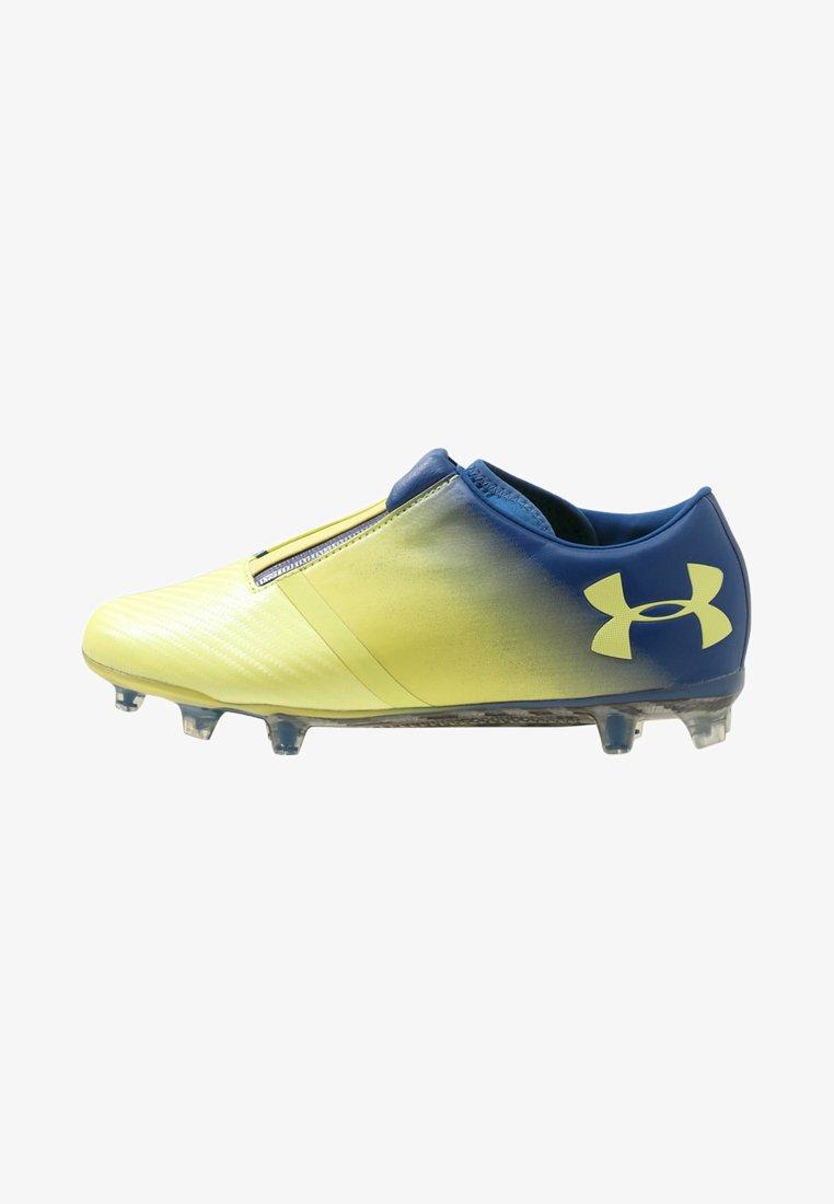 Under Armour - SPOTLIGHT FG - Moulded stud football boots - tokyo lemon