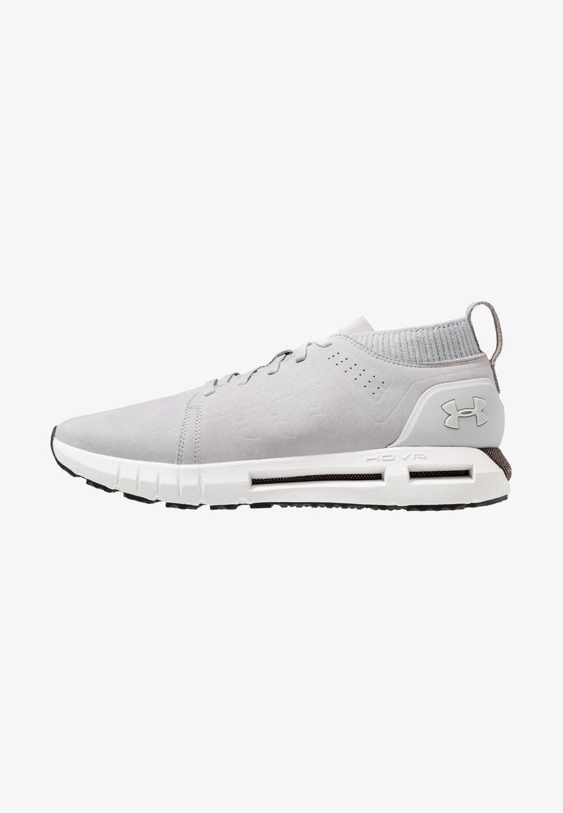 Under Armour - HOVR LACE UP MID - Laufschuh Neutral - mod gray/elemental