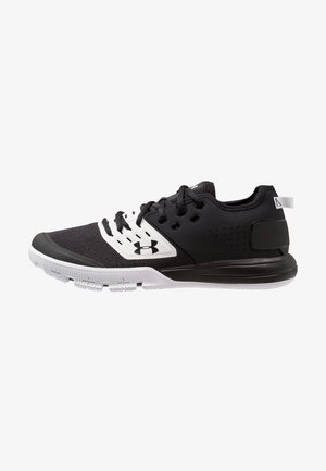 CHARGED ULTIMATE 3.0 - Sports shoes - black/white/black