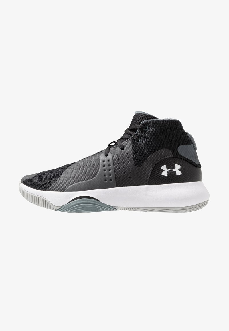 Under Armour - ANOMALY - Basketball shoes - black/white