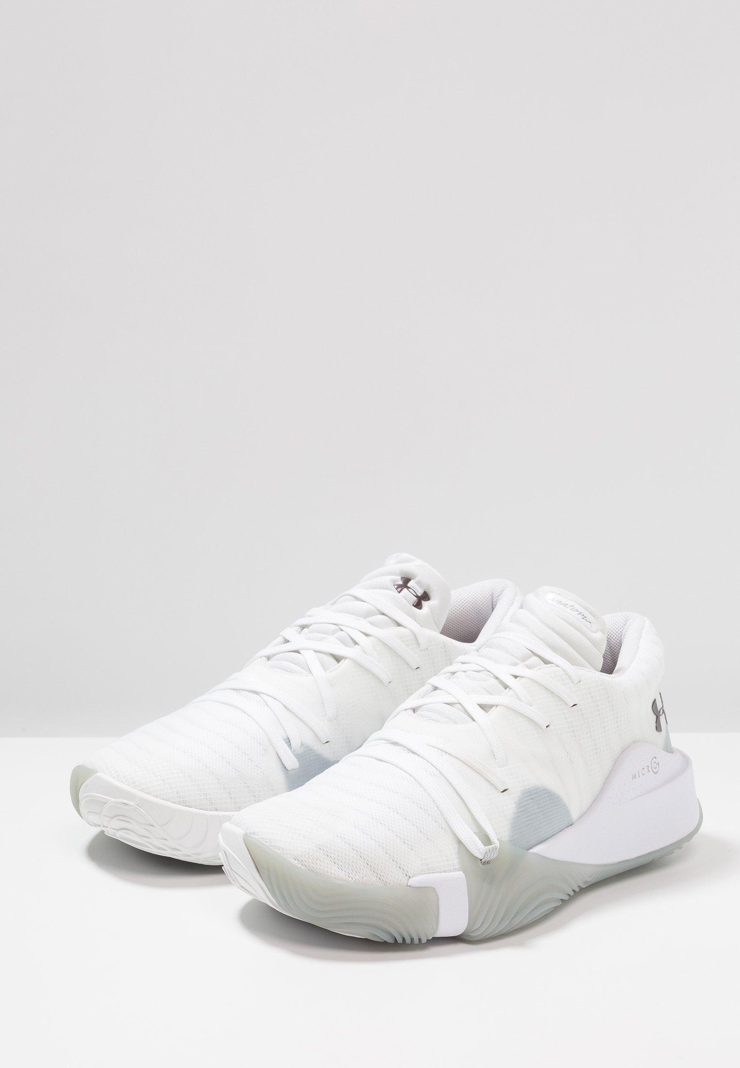 SPAWN LOW Chaussures de basket whiteash taupe