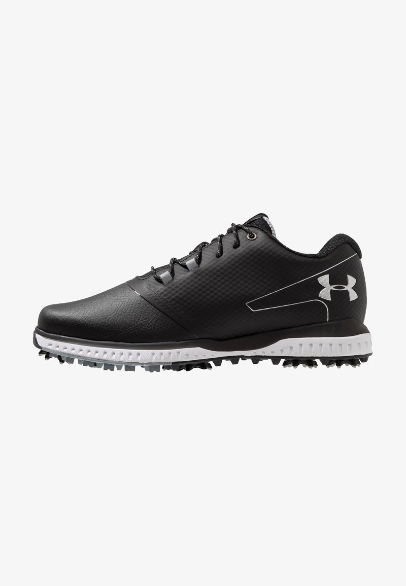 Under Armour - FADE RST 2 E - Golfsko - black/steel/metallic silver